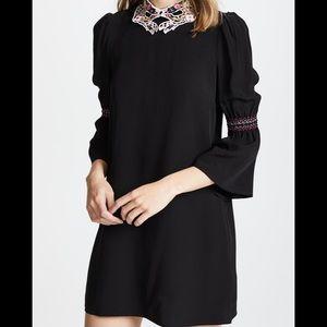 NWT VIVETTA mini black dress in size 42 IT